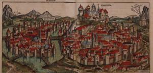 veduta di Cracovia (H.Schedl)